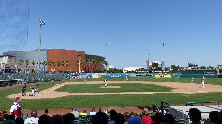 Banner Island Ballpark in Stockton