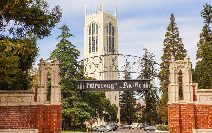 University of the Pacific in Stockton